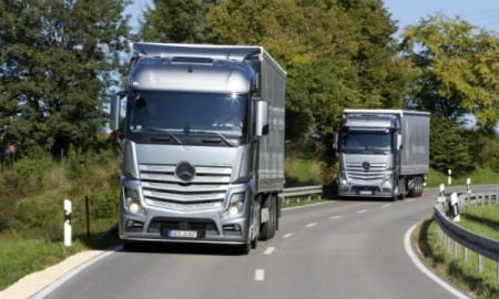 """Mercedes Actros z tytułem """"Green Truck 2015"""""""