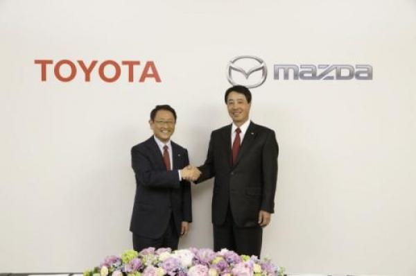 Toyota i Mazda łączą siły