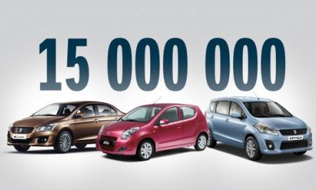15 milionów Suzuki z jednej fabryki