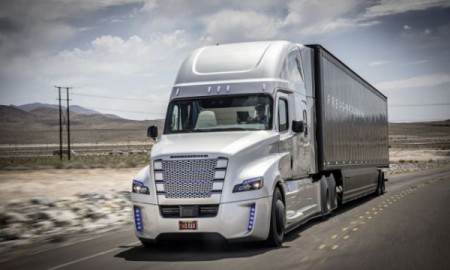 Freightliner Inspiration Truck – Autonomiczna ciężarówka z rekordem