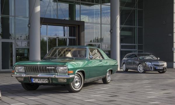 Opel Diplomat – Samochód szefa