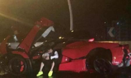 Ferrari LaFerrari – wypadek w Szanghaju