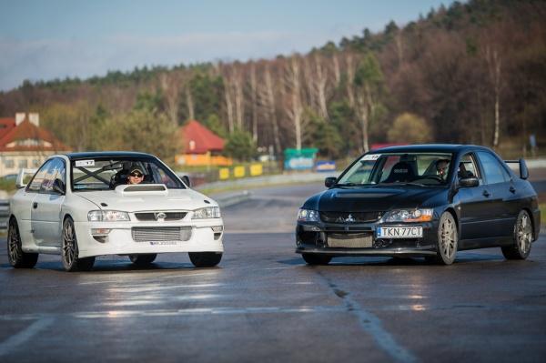 II Wielkie starcie Subaru Impreza vs Mitsubishi Lancer