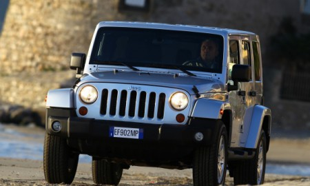 Jeep Wrangler do serwisu