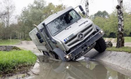 Mercedes Unimog U 4023/U 5023 – Najtrudniejszy off-road to jego żywioł
