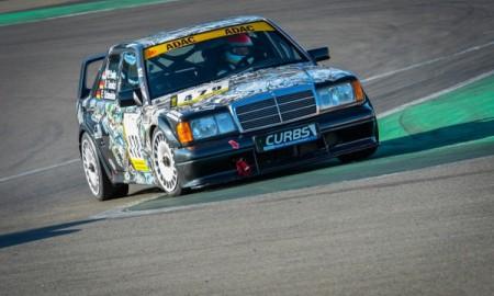 Mercedes 190 E 2.5-16 Evolution II  – Debiutant na torze