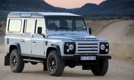 Land Rover Defender z usterką