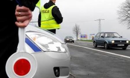 Policja odbierze prawo jazdy za przekroczenie prędkości
