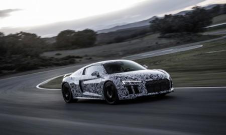 Audi R8 z ogumieniem Michelin