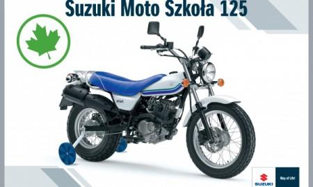 Suzuki Moto Szkoła 125 dla kierowców kat. B