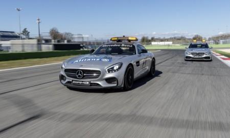 Mercedes-AMG GT S i C 63 S – W służbie F1