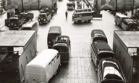 60 lat temu w tej fabyce ruszyła produkcja VW Transportera