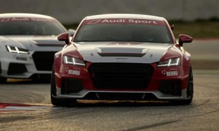 Pierwsze testy Audi Sport TT Cup