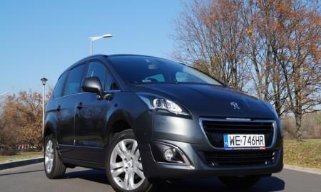 Peugeot 5008 1.6 HDi Style – Nie tylko na wakacje